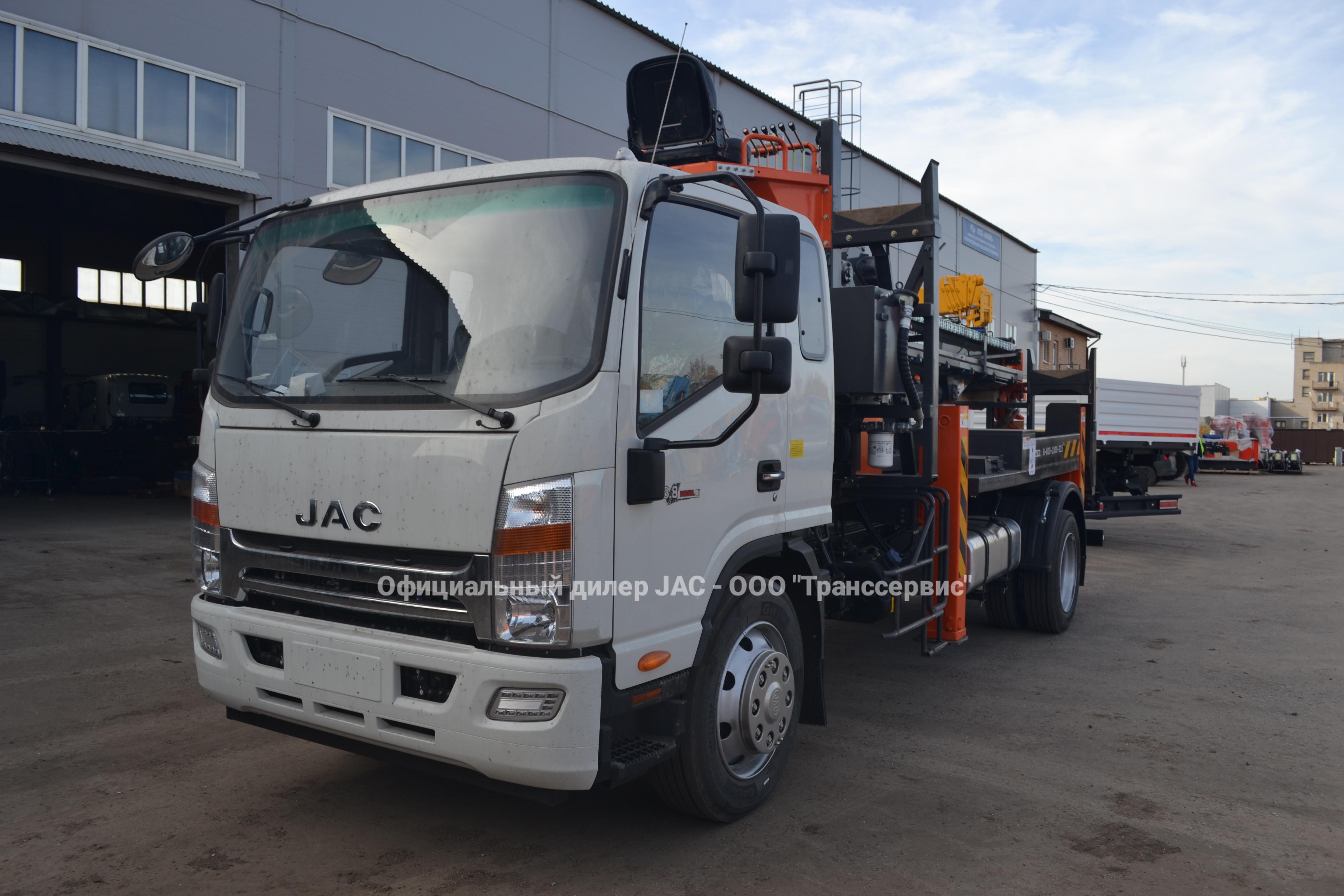 Новая модель Ямобур JAC N120