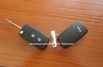 Ключи шасси Jac N120