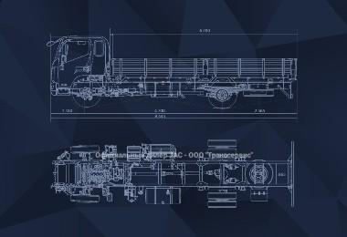 Схема шасси Jac N120
