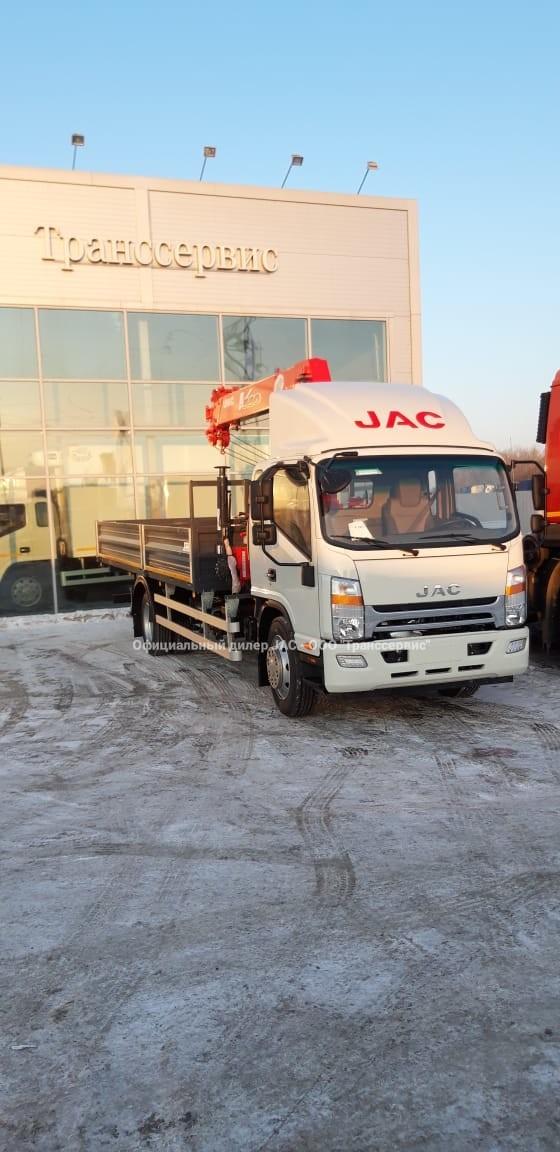 JAC 120 с КМУ 5 тонн в Хабаровске