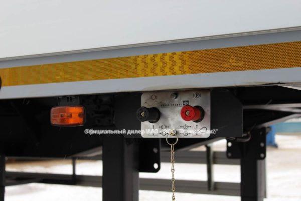 Ruchnik polupritsepa Sedelnyj tyagach Jac N80