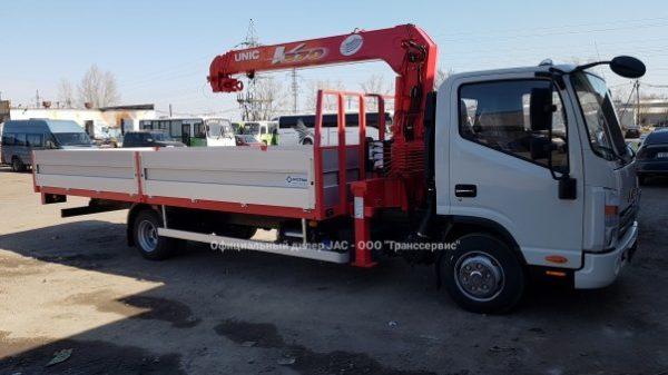 JAC N-80 с КМУ